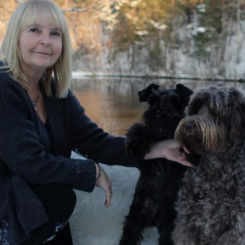 Lena lärare terapihundsutbildningen